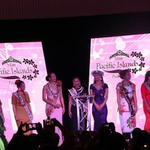 Miss Pacific Islands Contestants